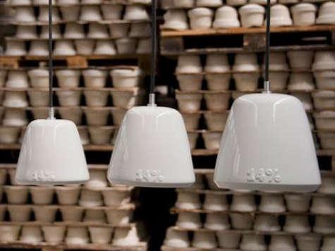 Lighting 14Percent Porcelain Pendant by Laura Strasser portrait 7