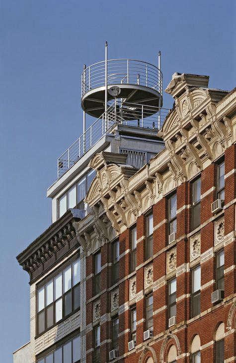 Architect Visit NY Roof Folly by Robert Kahn Architect portrait 8