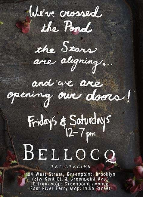 Restaurant Visit Bellocq Tea Atelier Opens Today in Brooklyn portrait 9