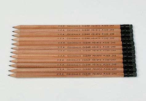 cedar pointe pencils twelve set large