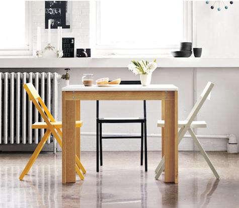 Furniture Piana Folding Chair at DWR portrait 3