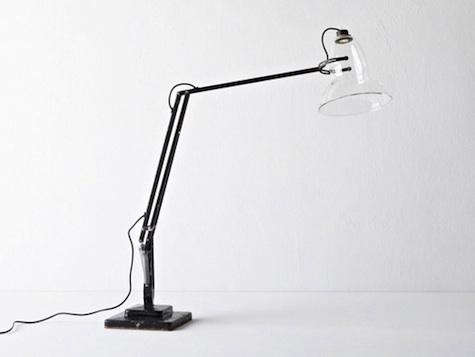 henry wilson glass anglepoise things revisited