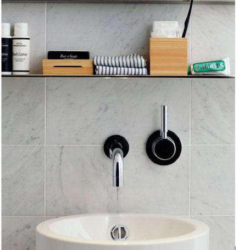 hotel americano marble sink