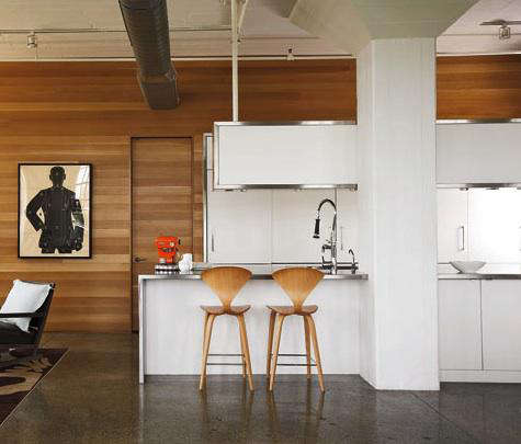 poteet concrete floor kitchen