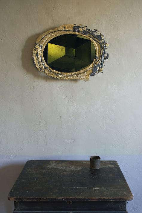 sam orlando miller black gold mirror