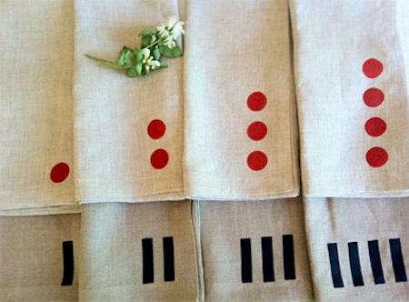 south street linen napkins ivory