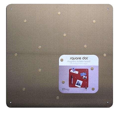 three by three sqaure dot magnet board