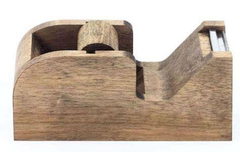 walnut tape dispenser old faithful