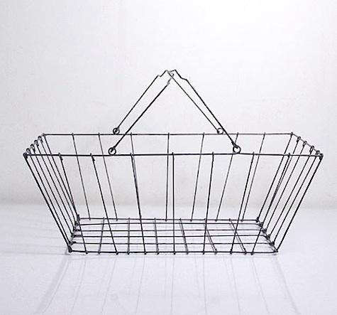 wire shopping basket brook farm general store large
