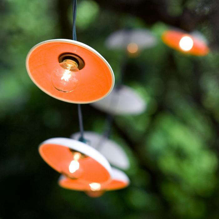 Outdoor String Lights from Pigeon Toe Ceramics in Portland OR portrait 4