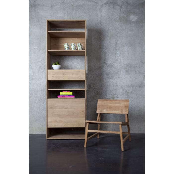 700 ehtnicarft oak bookcase