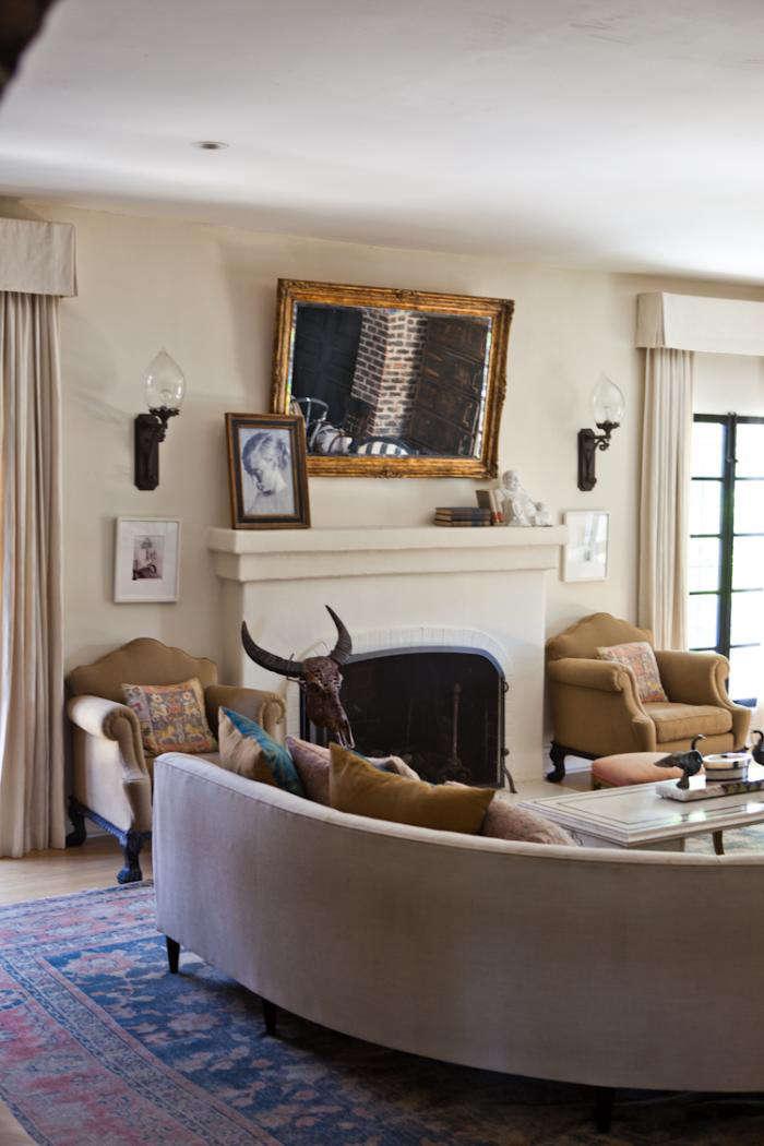 700 estee stanley curved sofa