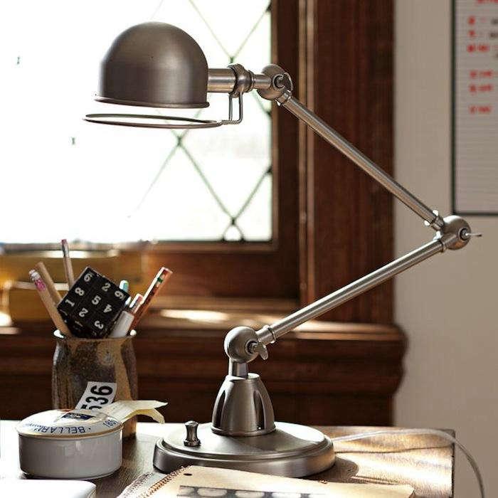 700 hi light task lamp silver