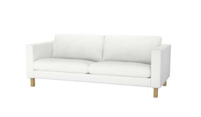 700 karlstad sofa white