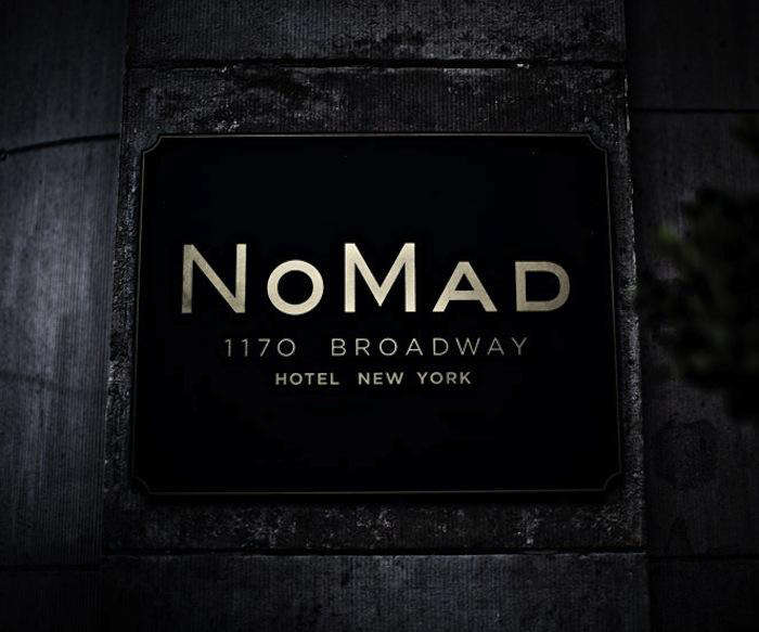 700 nomad hotel exterior sign