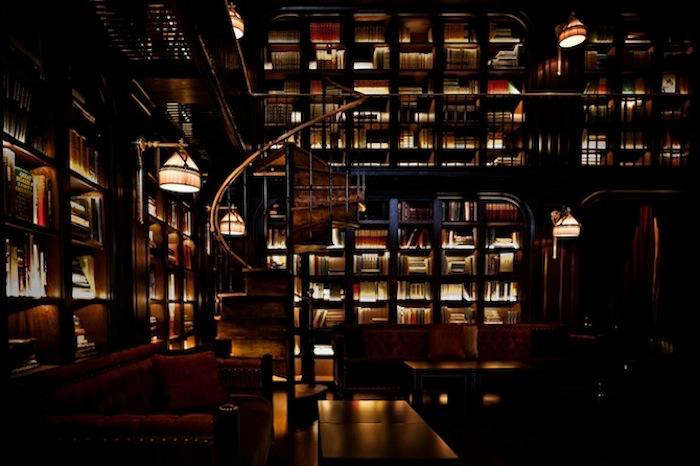 700 nomad hotel library