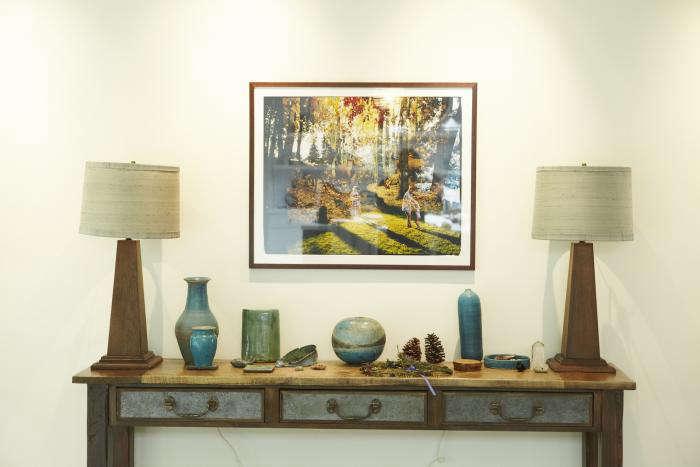 700 shiva rose house table with ceramics