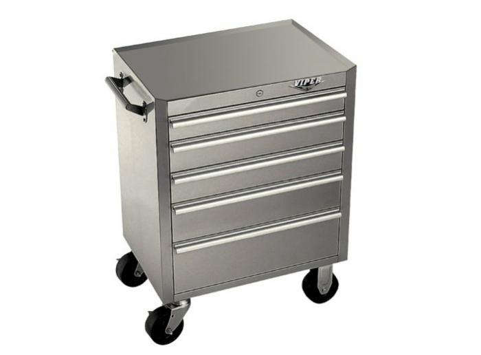 700 viper stainless tool 5 drawer cabinet