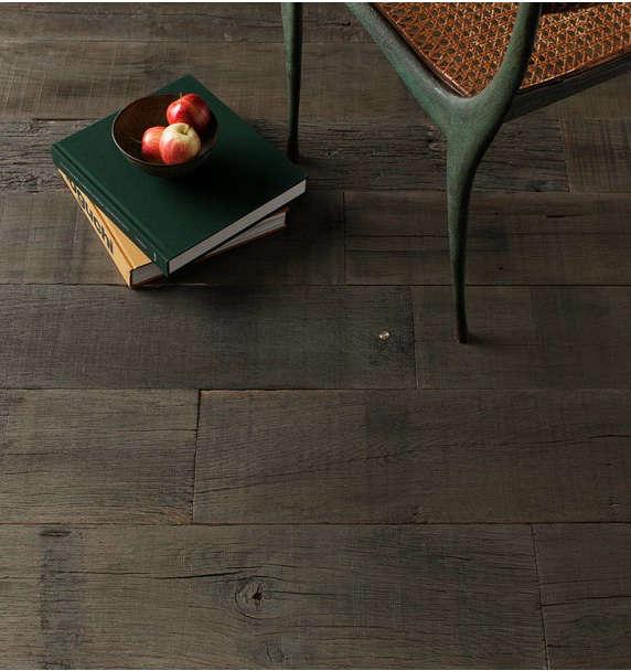 commune army wood floor