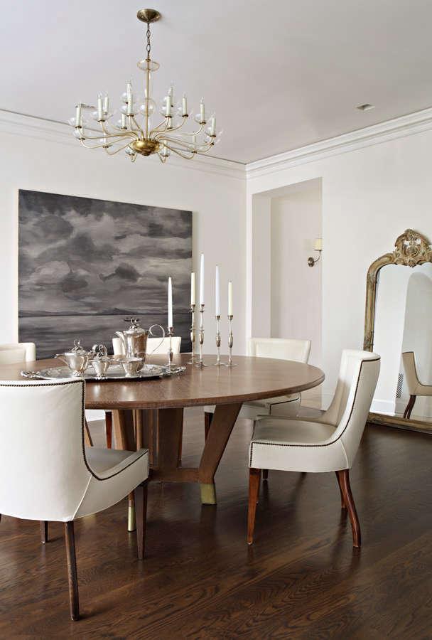 hefner round dining table