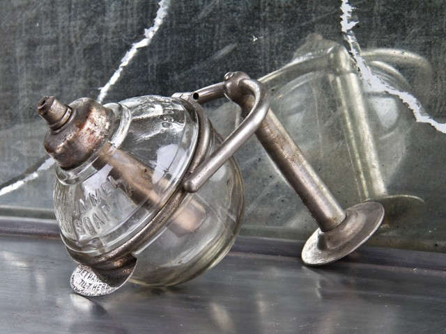 Design Sleuth Vintage Soap Dispenser as Dish Soap Holder portrait 4