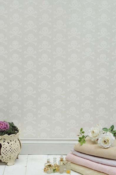 Design Sleuth Skulls Collection Wallpaper by Beware the Moon portrait 6