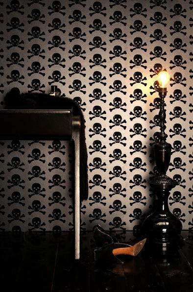 Design Sleuth Skulls Collection Wallpaper by Beware the Moon portrait 4