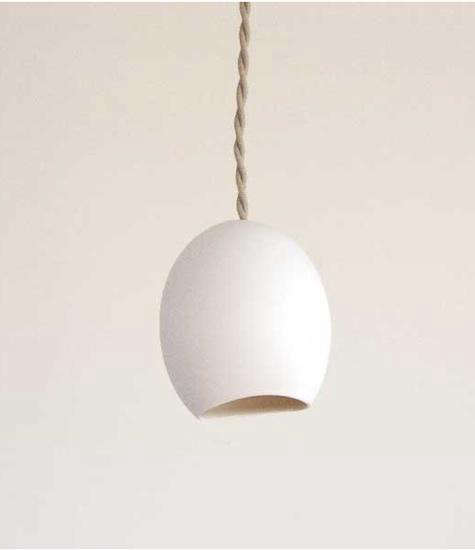 fashioned by porcelain lamp