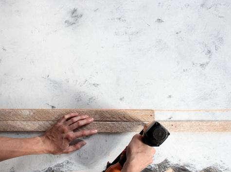 DIY Lath Wall by Jersey Ice Cream Co portrait 4