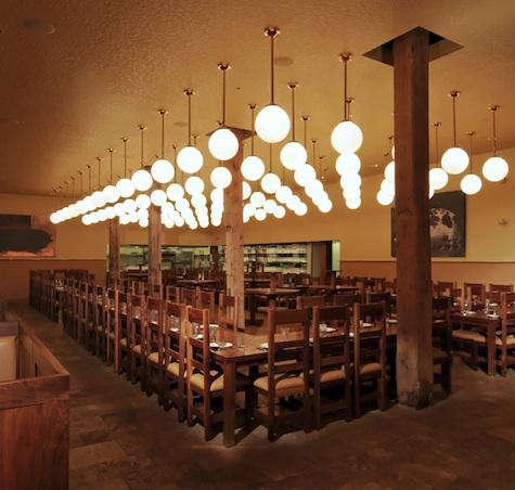 publican interior light grid