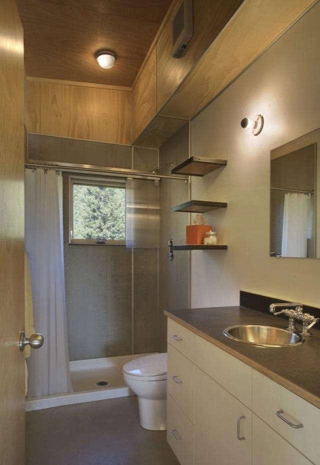 Architect Visit Pine Forest Cabin by Balance Associates in Seattle portrait 8