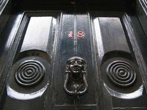 severs black door orange number