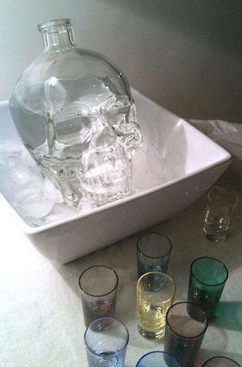 Tabletop Crystal Head Vodka  portrait 3