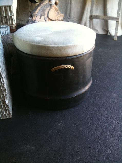 Furniture Culo Drum from Steed Fine Hoarding  Tack portrait 3