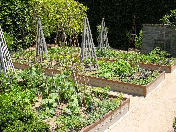700 art luna kitchen garden trellis
