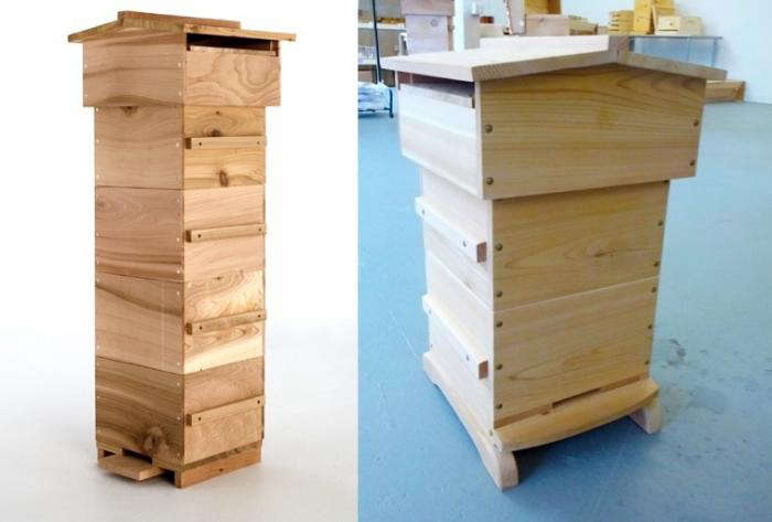 700 bee thinking warre hive duo