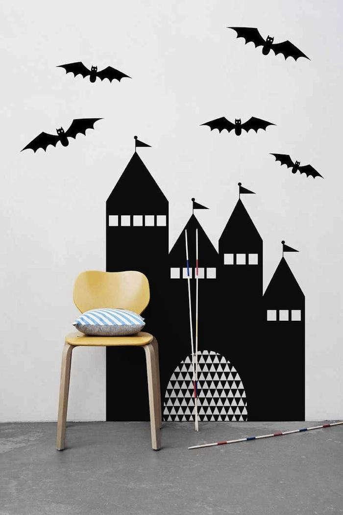 A HalloweenWorthy Wall Sticker portrait 3