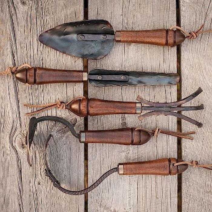 Fisher Blacksmithing Tools for the Gardener portrait 8