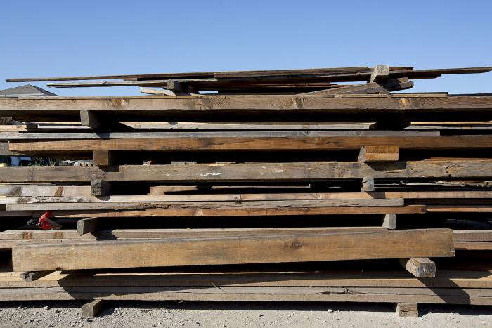 Reclaimed Wood Flooring from Heritage Salvage portrait 5