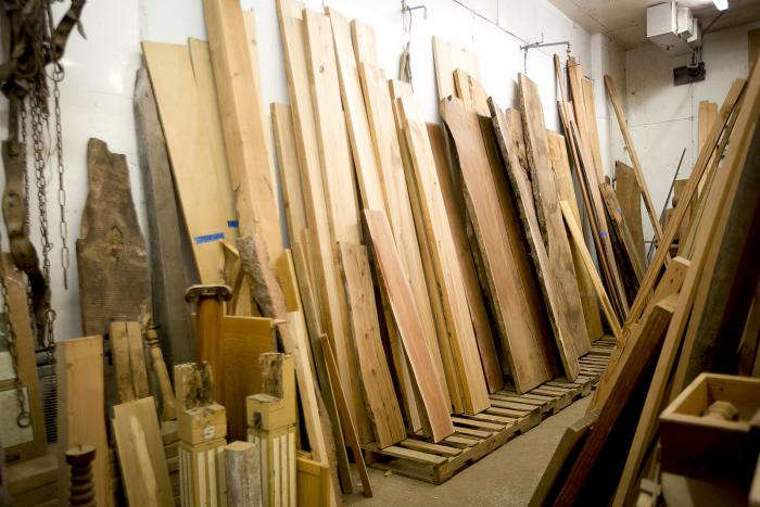 Reclaimed Wood Flooring from Heritage Salvage portrait 6