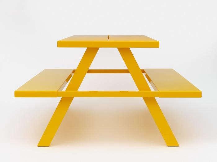 700 jennifer newman yellow frame bench