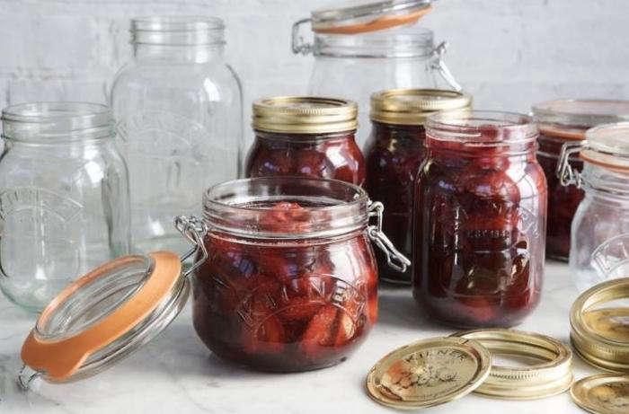 700 kilner preserve jars