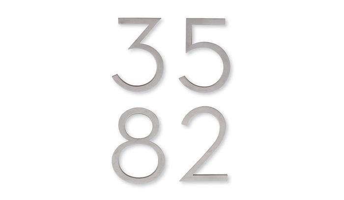 700 neutra aluminum house numbers dwr jpeg