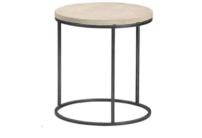 700 sandstone topped circle table