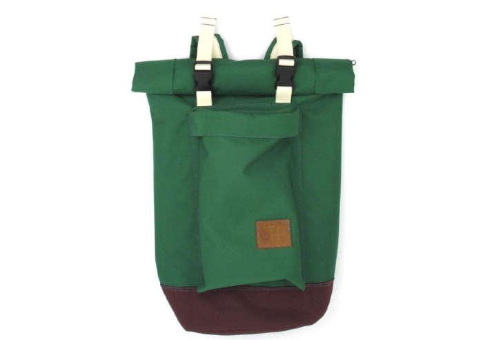 700 tim adams green and brown bag