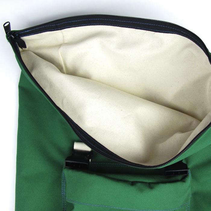 700 tim adams green bag zipper