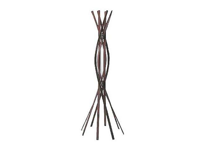 700 twist coatrack in dark wood