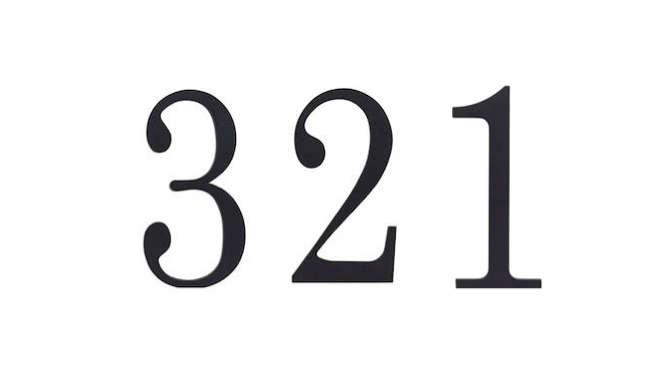 atlas homewares black numbers