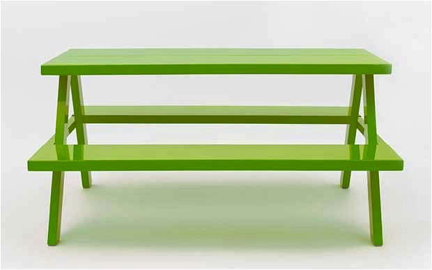 jennifer newman green picnic table