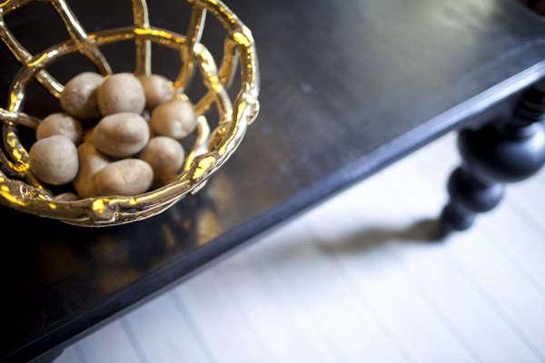 kuhn keramika gold bowl